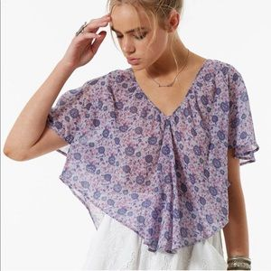 Spell and the Gypsy kombi flutter top. Size medium